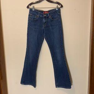 Levi's superlow bootcut jeans, juniors 7